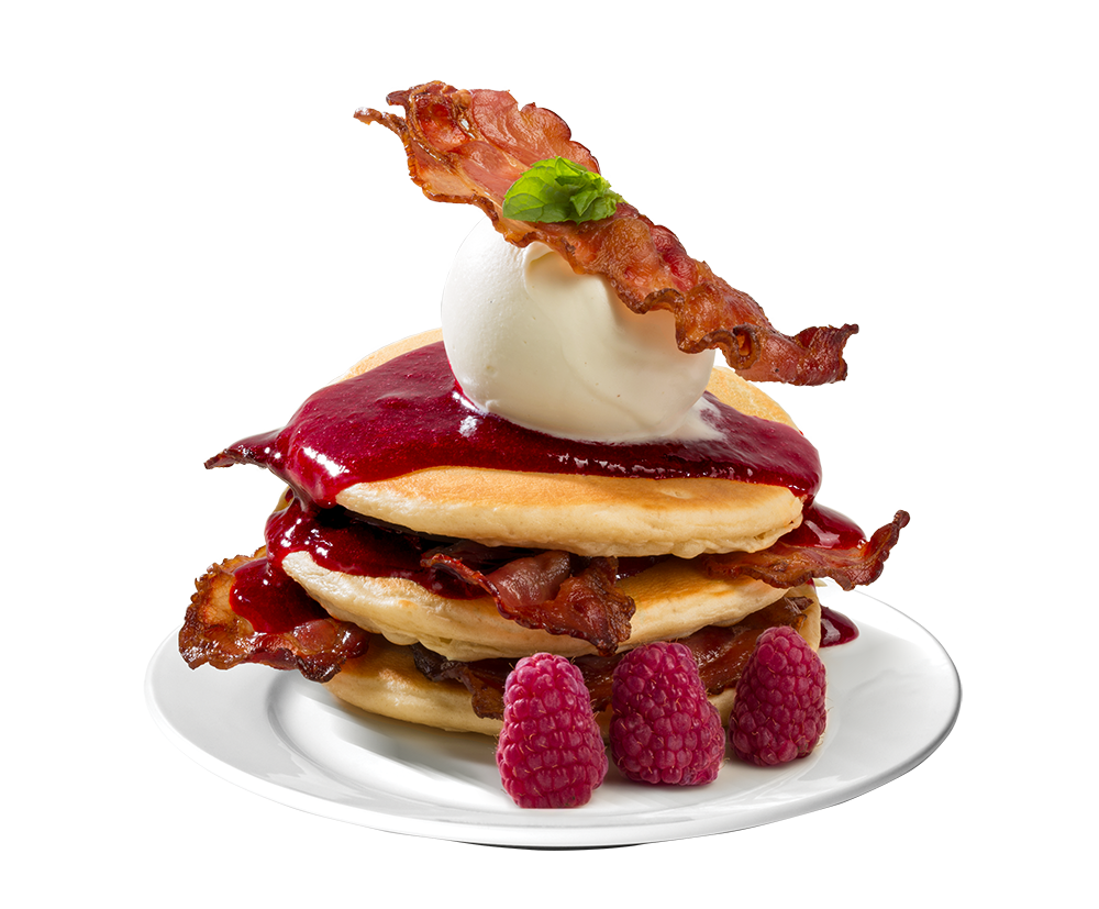 Pancakes – an American classic, now in Road