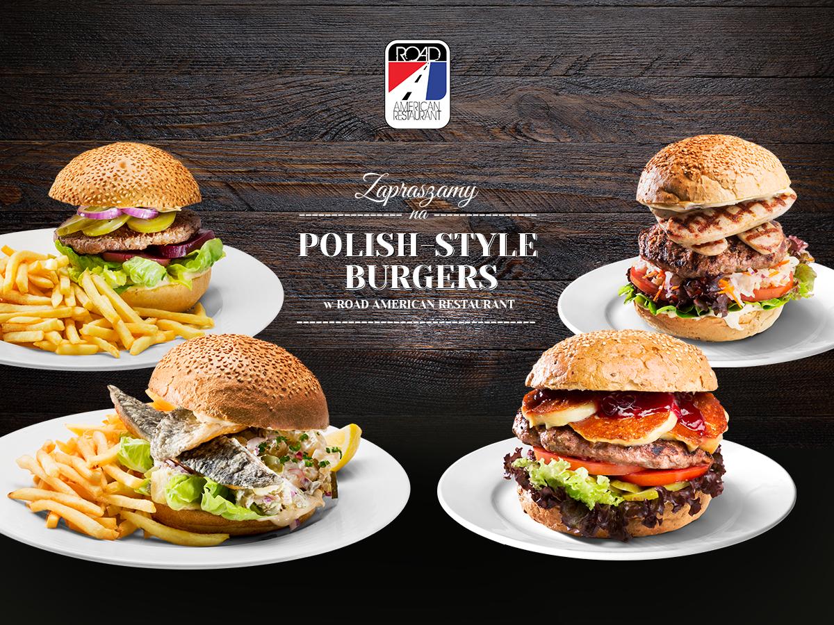 Polish-style burgers