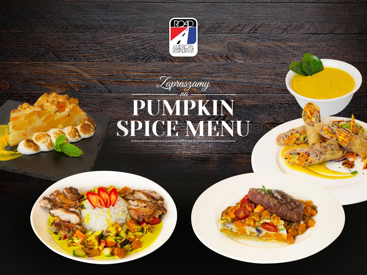 Pumpkin Spice Menu, czyli sezon na dynię w Road!