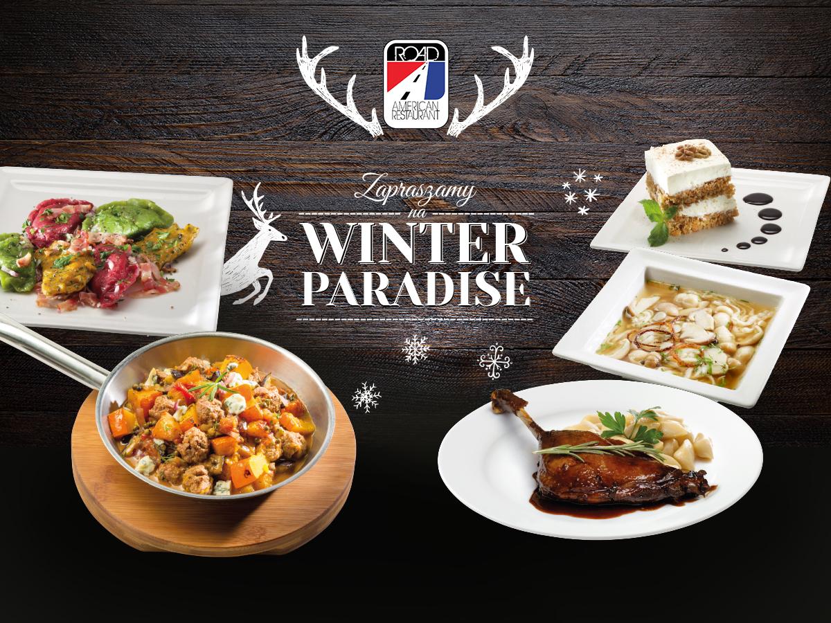 Nowe menu sezonowe – WINTER PARADISE