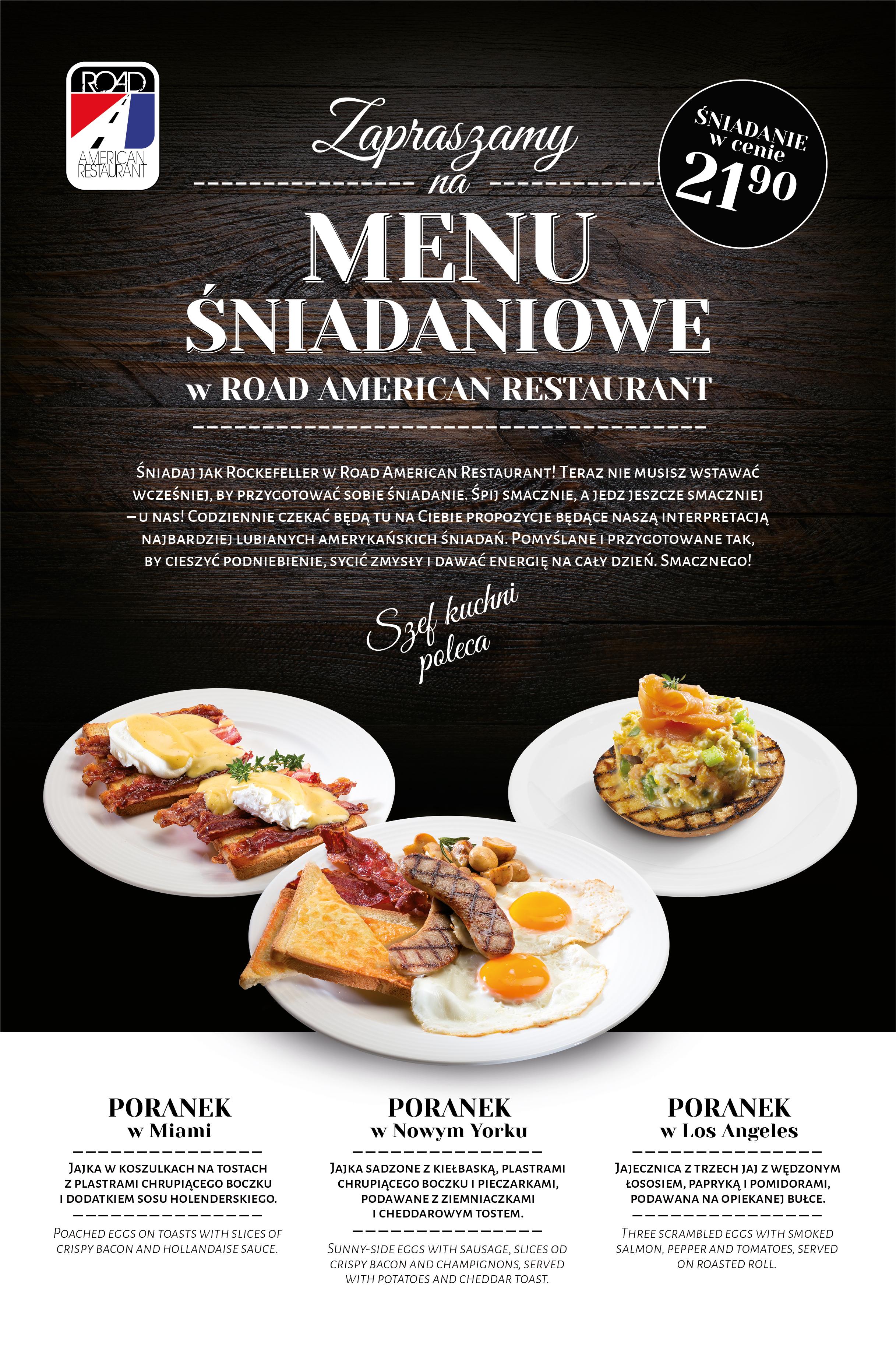 Śniadanie w Road to ZAWSZE dobry pomysł!