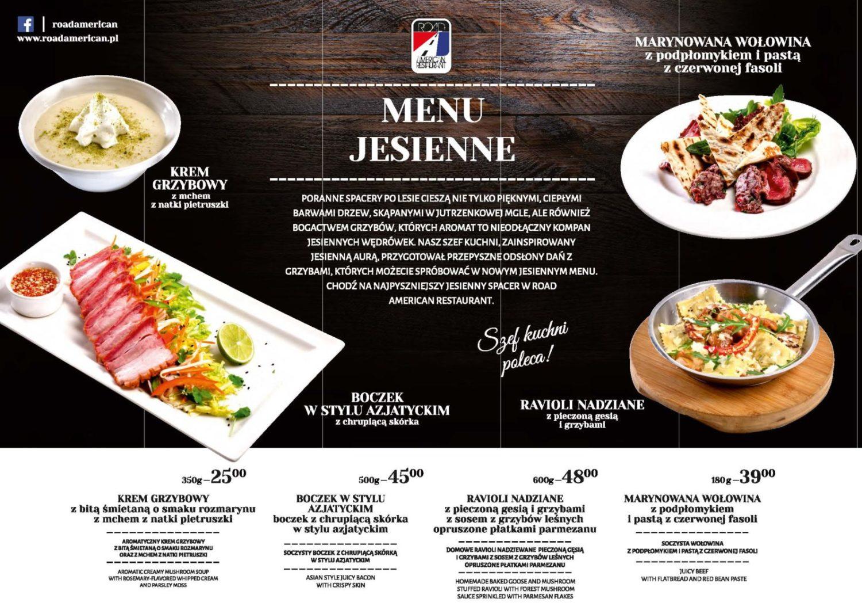 Zapraszamy na pyszne menu jesienne !